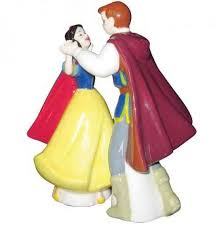 snow white and prince wedding cake topper wedding collectibles