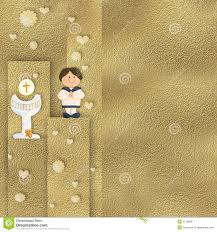 Invitation Card For Holy Communion First Holy Communion Invitation Stock Illustration Image 51186067
