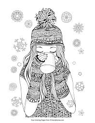 free winter coloring page download from alisa burke alisa burke