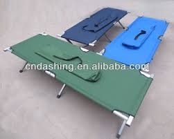 Folding Single Camping Bed Lightweight Cheap Fold Bed Army Travel Bed Military Portable