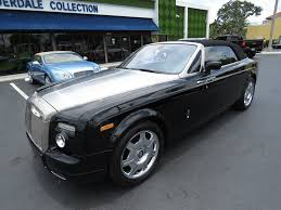 drophead rolls royce 2008 used rolls royce phantom drophead coupe at fort lauderdale