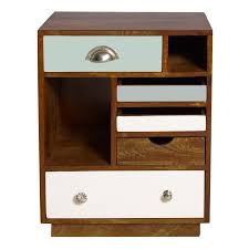 Bedroom Furniture Wood And Metal Bedroom Furniture White Stained Oak Wood Nighstand With Drawer