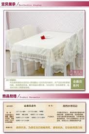 classic europe round square dining tablecloth coffee table chairs