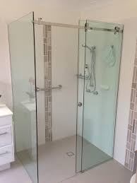 Sliding Shower Screen Doors Generous Sliding Frameless Shower Screens Pictures Inspiration