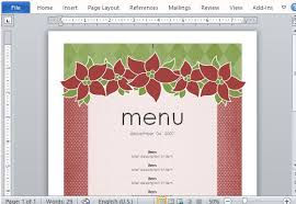 menu publisher template best menu maker templates for word