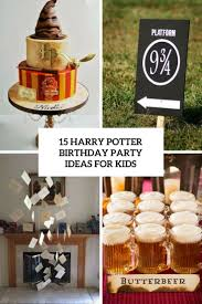15 Harry Potter Birthday Party Ideas For Kids Shelterness 15