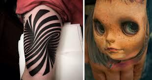 25 3d tattoos that will twist your mind bored panda