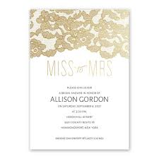 bridal shower invitation miss to mrs foil bridal shower invitation invitations by