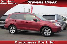 red subaru forester subaru forester for sale cars and vehicles mountain view