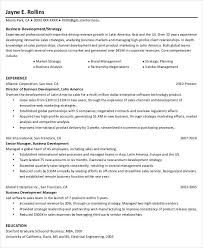 Sample Resume Business Development by 38 Sample Resume Templates Free U0026 Premium Templates