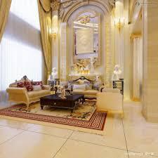living room figure of the european european style luxury living