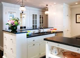 White Kitchen Cabinets With Black Granite Countertops 31 Best Kitchens Images On Pinterest Home Kitchen And Dream