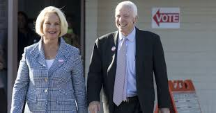 Senators Wife by Is Donald Trump Trying To Buy Off John Mccain