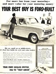 car advertisement 1954 australian auto advertising