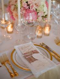 wedding silverware wedding trends gold flatware at reception table settings inside