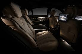 2014 mercedes s class interior 2014 mercedes s class official interior photos released