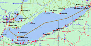 Ohio Erie Canal Map by Blame Buffett September 2012