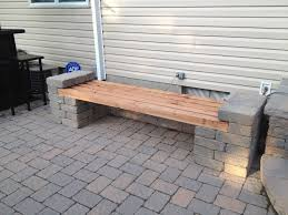 patio examples patio block and wood bench design pinterest patio blocks