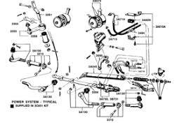 66 mustang power steering power steering hose pressure to valve 1965 66