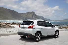 peugeot 4 door new peugeot 2008 small crossover detailed in 47 high res photos