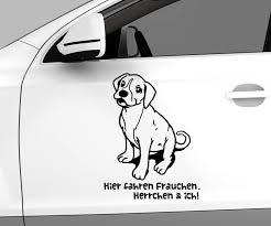 autoaufkleber sprüche autoaufkleber hund boxer welpe spruch hier fahren frauchen ich