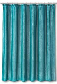 Teal Ruffle Shower Curtain by Curtains White Ruffled Shower Curtain Walmart Shower Curtain