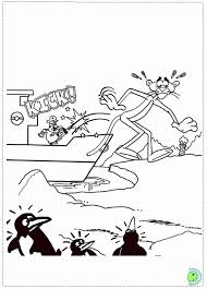 pink panther coloring pages coloring