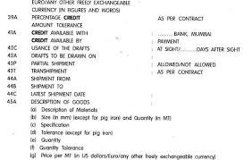 letter of credit lc parties types and documents banking