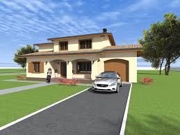 mediteranean style house design and 3d elevation model nc20 247