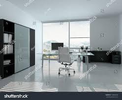 modern home office interior desk stock illustration 178878938