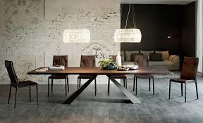 designer beleuchtung moderne esstische mit stühlen designer lösungen aus massivholz glas