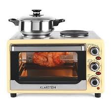 rv kitchen appliances electric mini oven hob cooker combo hot plate 1500w portable rv