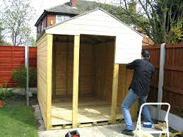 how to build a garden storage shed small outdoor plans floor