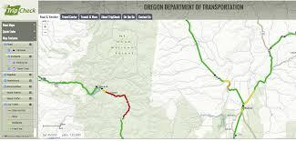 Burns Oregon Map Fuel Truck Slips On Ice Crashes Burns Bend Driver Killed