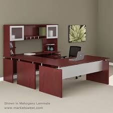 series straight front executive u shaped desk suite 39 right handed