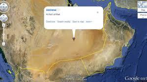 rub al khali map luxury expeditions luxury travel stories