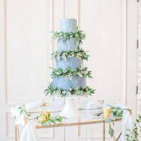 greenery dusty blue and gold spring wedding inspiration belle