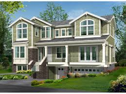 house plans with garage underneath raised house plans with garage underneath modern house plan