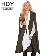 womens casual hdy haoduoyi 2017 casual open front blazer suits with pocket