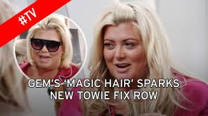 towie faces more fake claims as gemma collins u0027 hair appears to