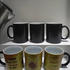 magic mugs harry marauders map color changing mug u2013 geekuarium