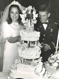 ina garten wedding ina garten jeffrey wedding photo 1968 famous wedding cakes