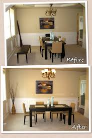 Project  Staging A Dining Room Creating Interiors - Dining room staging