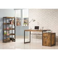 Computer Desk And Bookcase Combination Desk Bookcase Combo Wayfair