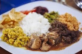 sri lanka cuisine traditional sri lankan cuisine including pol sambol rotti and fish