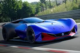 peugeot canada peugeot l750 r hybrid vision coming to gran turismo sport motor