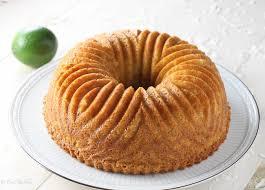 coconut lime bundt cake