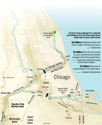 Chicago River Map by A Watershed Moment Watchdog Report Bulk Of 15 Billion Plan