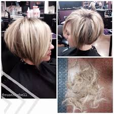diy cutting a stacked haircut short stacked bob hairstyles and color pinterest short