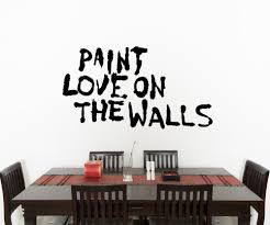 inspirational quotes wall decals inspirational wall stickers vinyl wall decal sticker paint love on the walls os mb855